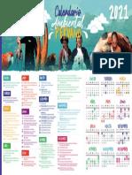 Calendario ambiental 2021