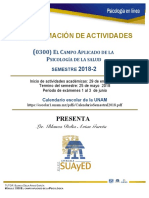Programa de Actividades 300
