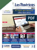 Portada 22 de Febrero Diario Las Américas
