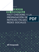 Chequeado en Argentina. Fact Checking y La Propagación de Noticias Falsas en Redes Sociales