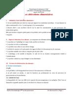Les altérations alimentaires 2020 Cours hydrobromatologie 5eme année pharmacie Dr CHEROUAL (1)