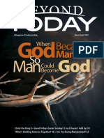 Beyond Today Magazine -- March/April 2021