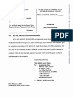 Lawsuit filed against city of Myrtle Beach, Myrtle Beach Police Department