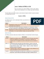 Annexe html