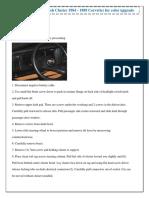 Dash kit Installation Instruction(1)
