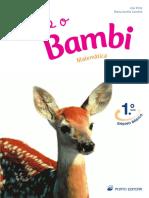 Eu e o Bambi - matemática
