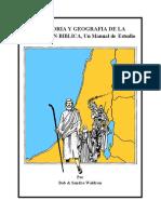 Geografia Biblica Manual