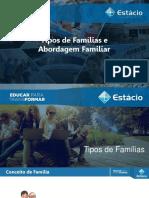 Tipos de Familias e Abordagem Familiar Discentes