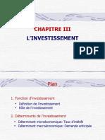 Ch3. L'investissement