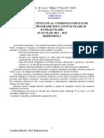 Raport de Activitate Al Coordonatorului de Proiecte Şi Programe Educative Şcolare Şi Extraşcolare 2011-2012 SEM I