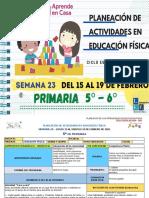 Semana 23 5°y 6° Primaria EF - LEF Antonio Preza