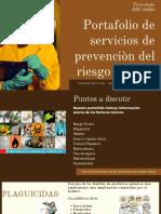 Portafolio de servicios de prevencion riesgo toxico