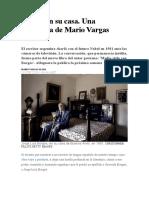 Vargas Llosa - Borges en Su Casa (Entrevista)
