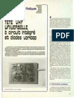 Tete VHF universelle