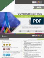 Guía para el examen de conocimientos al reglamento de tránsito Edomex 2021