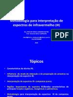 Metodologia Para Interpretação de Espectros de Infravermelho (