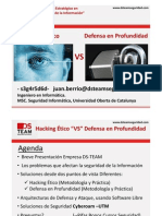 Hacking Etico y Defensa en Profundidad