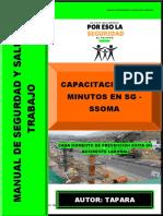 CHARLAS DE 5 MINUTOS DE TAPARA