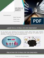 TOMA DE DECISIONES TRABAJO EN EQUIPO