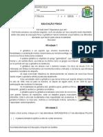 PLANEJAMENTO EJA - EDUCAÇÃO FISICA