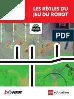 Les règles du jeu du robot