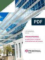 brochure Primopierre 1S2020