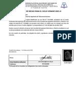 Formatos de Solicitud de Becas Ing de Telecomunicaciones