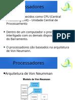 Material Didático - Processadores
