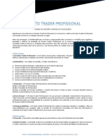 Regulamento Projeto Trader Profissional