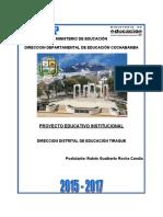 PROYECTO EDUCATIVO INSTITUCIONAL DE TIRAQUE