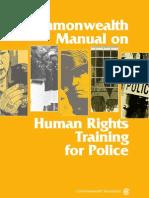 Commonwealth training manual