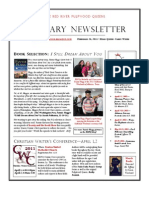 Red River Pulpwood Queens February Newsletter
