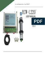 Load Device Ecw-L220User Manual