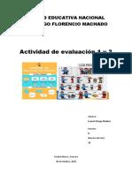 Actividad de Evaluación 1 y 2 de Inglés - Leonel Ortega Medina