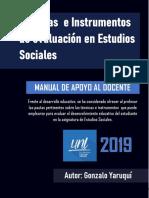Manual de Técnicas e Instrumentos de Evaluación en ES