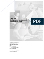 Cisco - IOS Configuration Guide (Release 12.2)