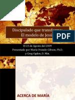 Discipulado Que Transforma El Modelo de Jesus