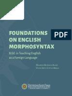 Foundations on English Morphosyntax