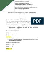 AVALIAÇÃO - ESTATISTICA - CARLOS AIRTON CASTRO LEITE
