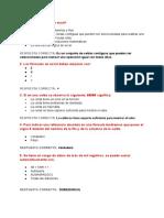 Cuestionario Excel Intermedio