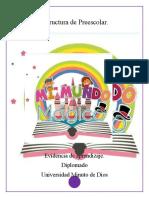Estructura de Preescolar Mi mundo magico (1) DEFINITIVO
