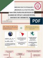 Exposicion Factores Socioculturales y Aceptabilidad a La Vacuna Del Vph