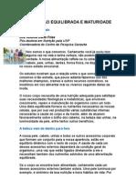 - Alimentação equilibrada e maturidade - Dra  Andrea Dario Frias