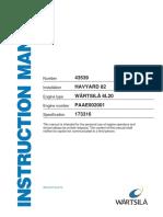 Wärtsilä 6L20 (Manual)