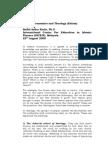 Islamic Economics and Theology