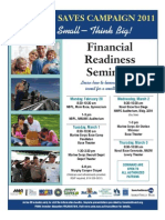 Military Saves Seminars Flyer