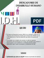 INDICADORES DE D.H.