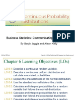 Chapter 6 Continuous Probability Distribution