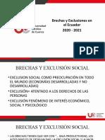 1.4. Brechas y Exclusiones en el Ecuador