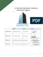 PLAN PARA LA VIGILANCIA, PREVENCIÓN Y CONTROL DE COVID-19 EN EL TRABAJO_PUCARÁ